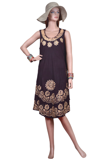 Rima Beach - Bata Dress Gold
